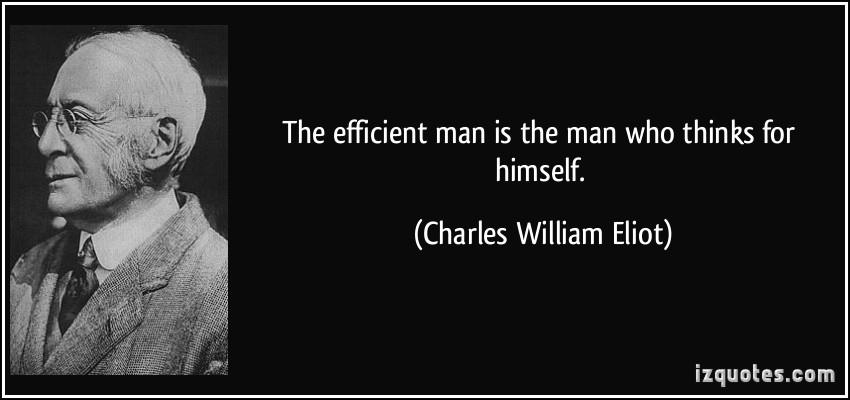 Charles William Eliot's quote #1