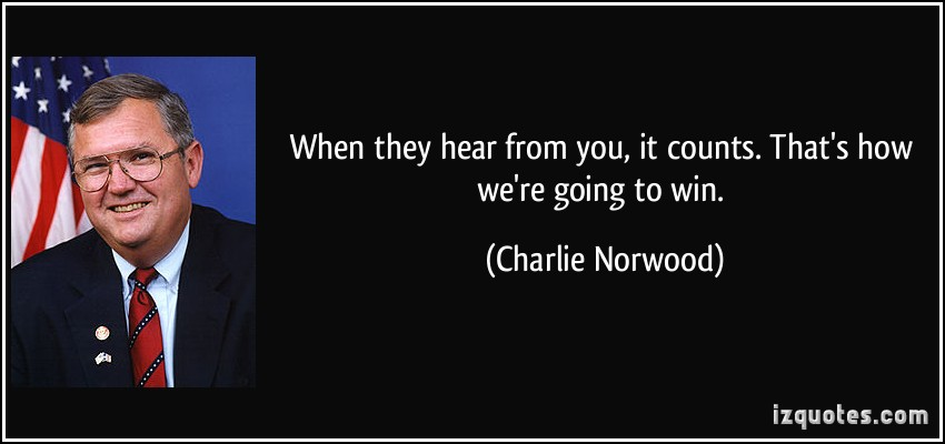 Charlie Norwood's quote #1