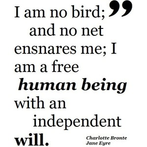 Charlotte Bronte's quote #1