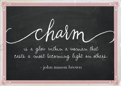 Charm quote #3