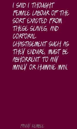 Chastisement quote #2