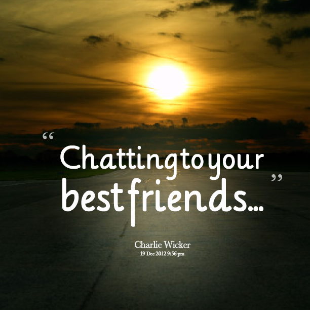 Chatting quote #1