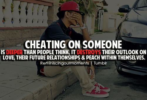 Cheating quote #3