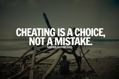 Cheating quote #7
