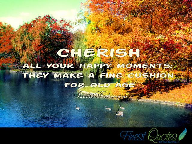Cherish quote #1