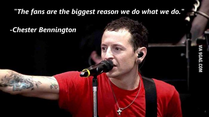 Chester Bennington's quote #4