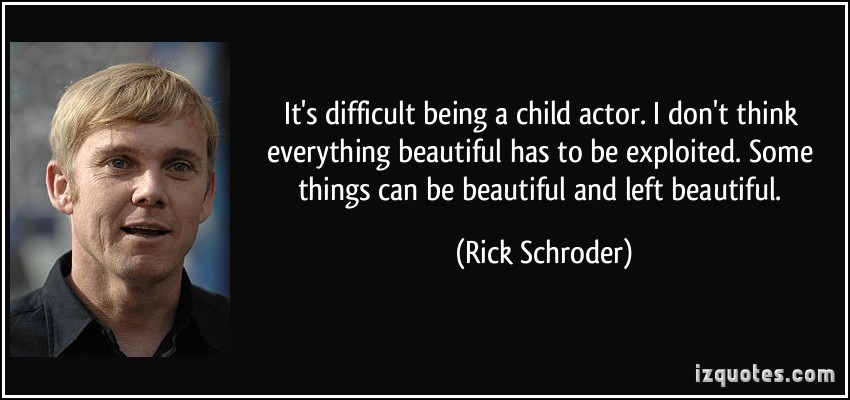 Child Actor quote #1