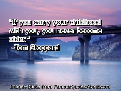 Childhood quote #1