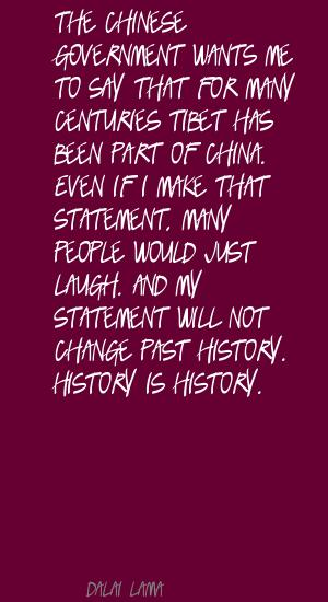 Chinese Government quote #1
