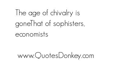 Chivalry quote #2