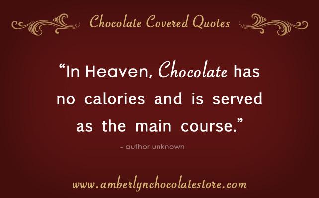 Chocolate quote #3