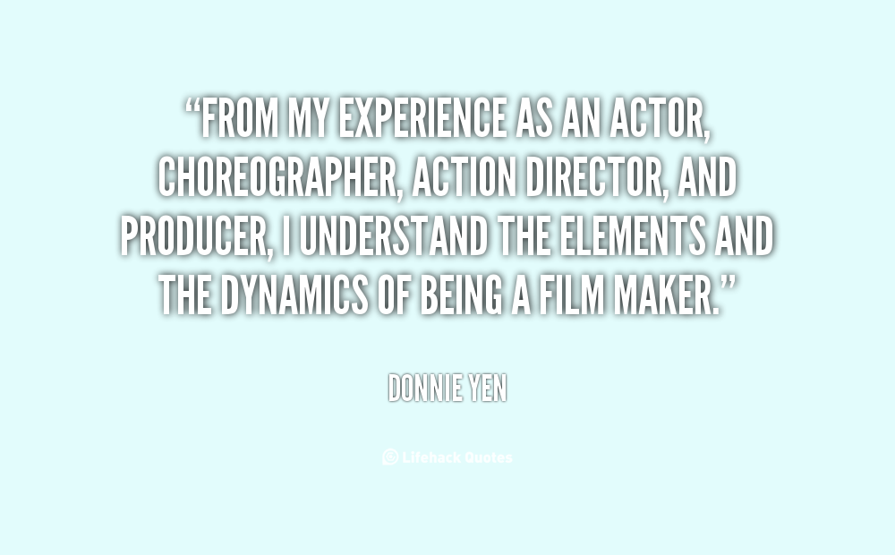 Choreographer quote #1