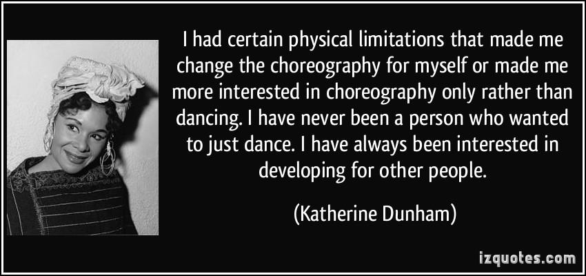 Choreography quote #1