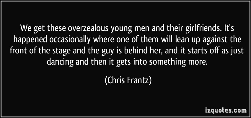 Chris Frantz's quote #4