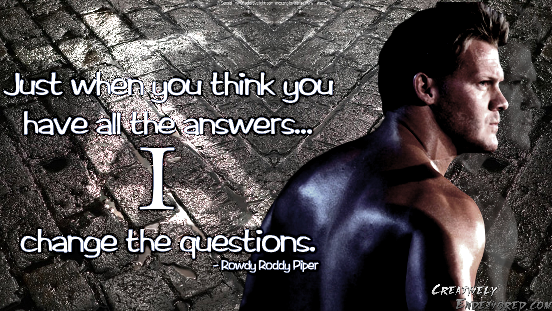 Chris Jericho's quote #4