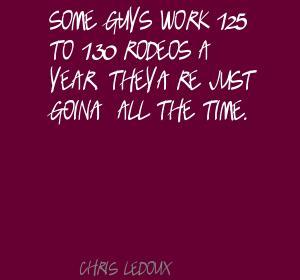 Chris LeDoux's quote #3