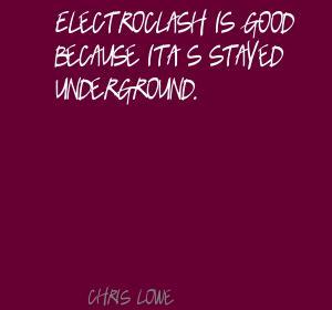 Chris Lowe's quote #3