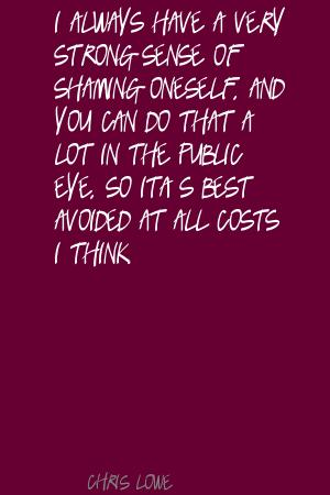 Chris Lowe's quote #4