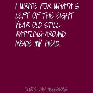 Chris Van Allsburg's quote #1