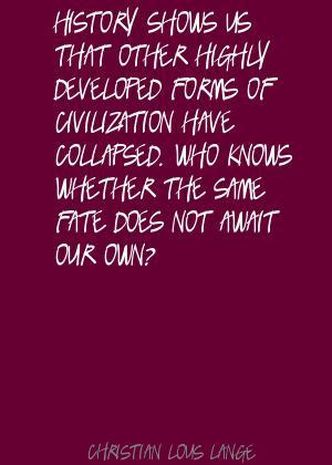 Christian Lous Lange's quote #6