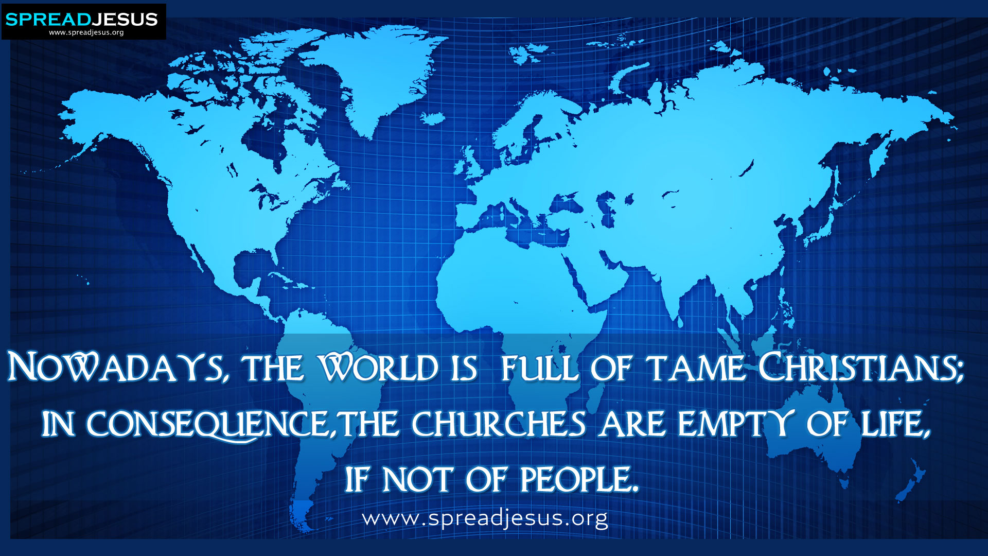 Christian World quote #1