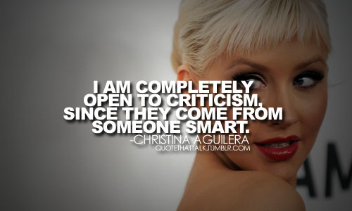 Christina Aguilera's quote #4