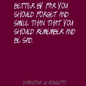Christina G. Rossetti's quote