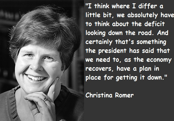 Christina Romer's quote #1