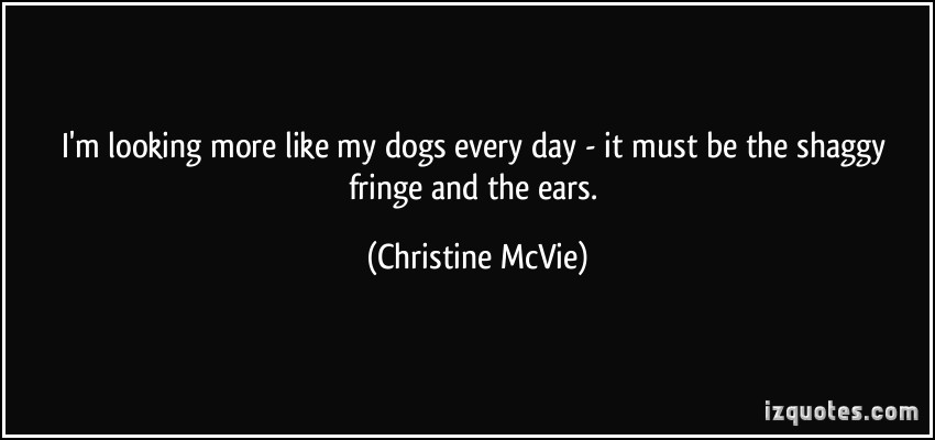 Christine McVie's quote #5