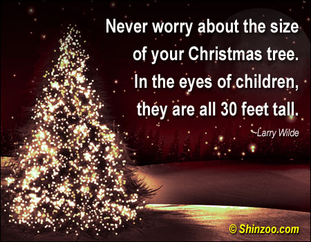 Beautiful Christmas Tree Quote #2