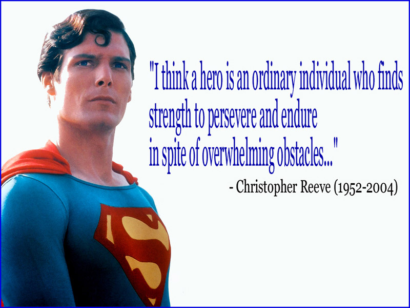 Christopher Reeve quote #2