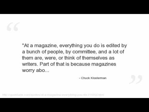 Chuck Klosterman's quote #4