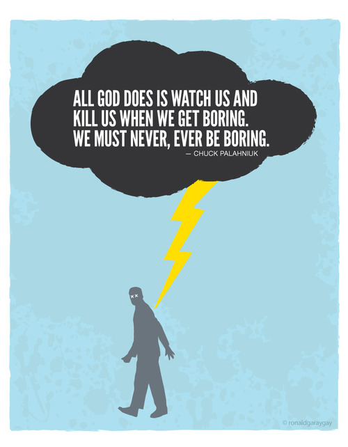 Chuck Palahniuk's quote #7