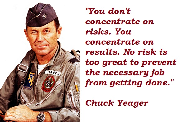 Chuck Yeager's quote #3