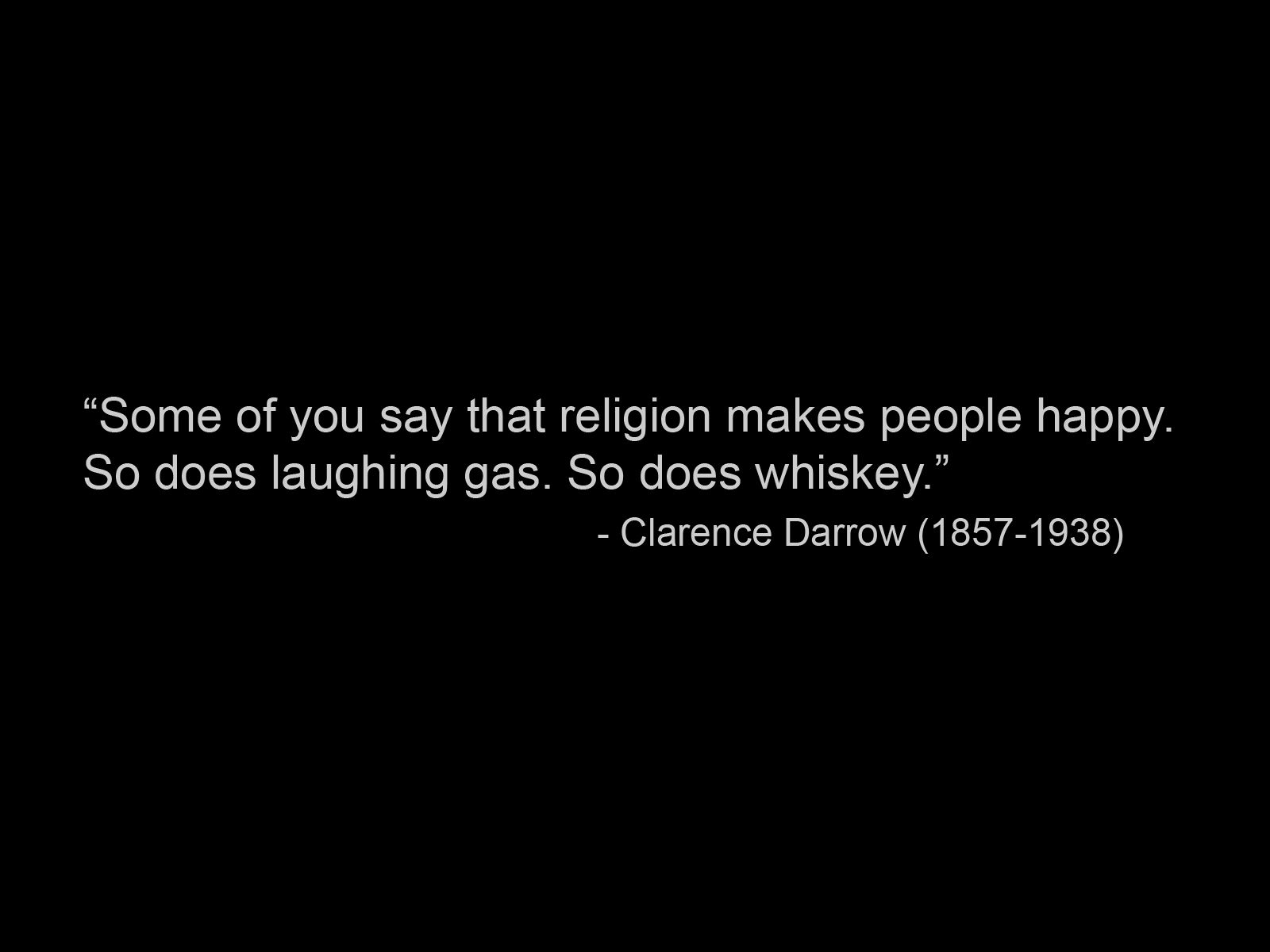 Clarence Darrow's quote #5