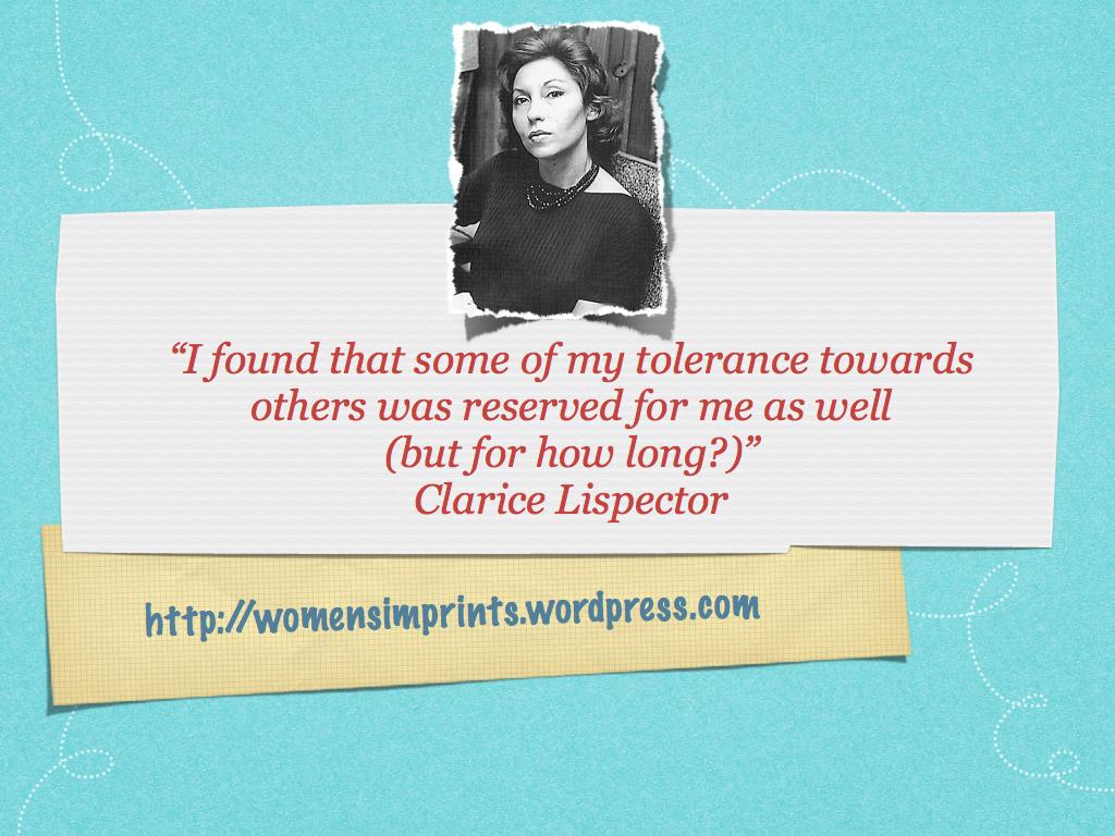 Clarice Lispector's quote #1
