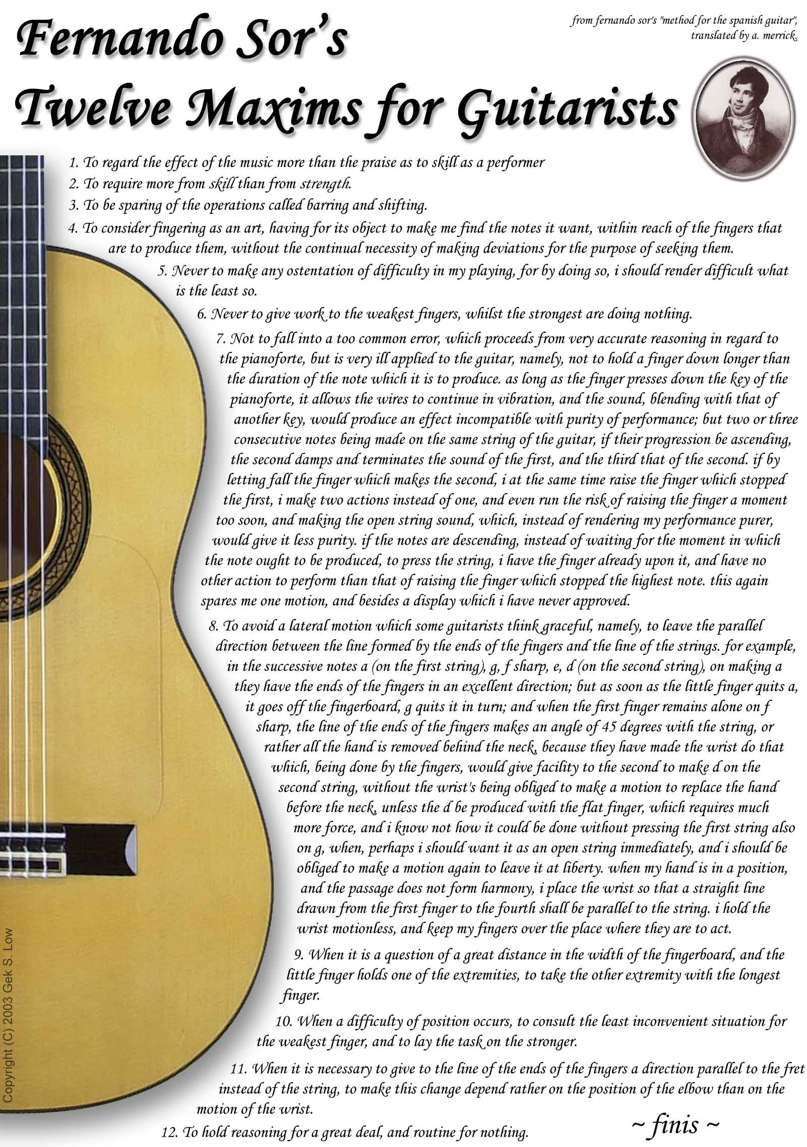 Classical Guitar quote #2