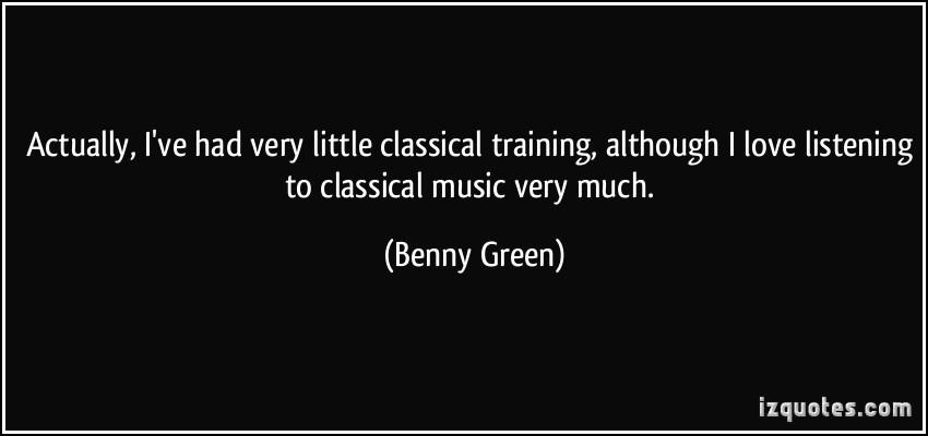 Classical Training quote #2