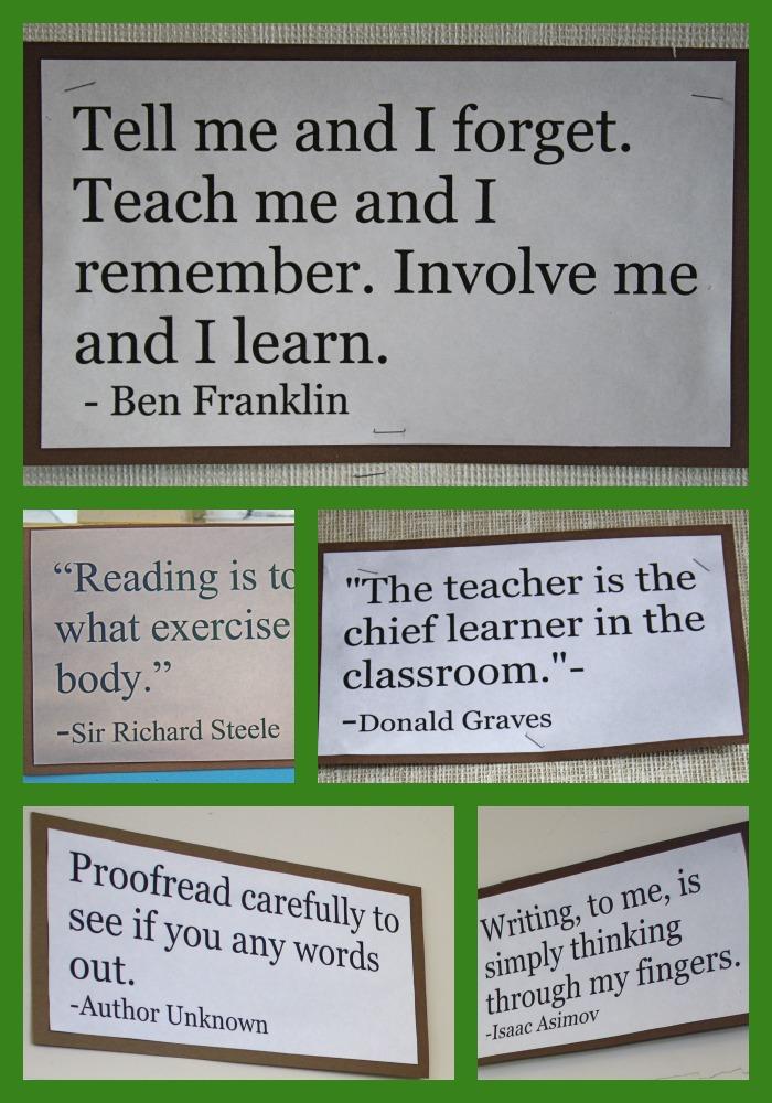 Classroom quote #5