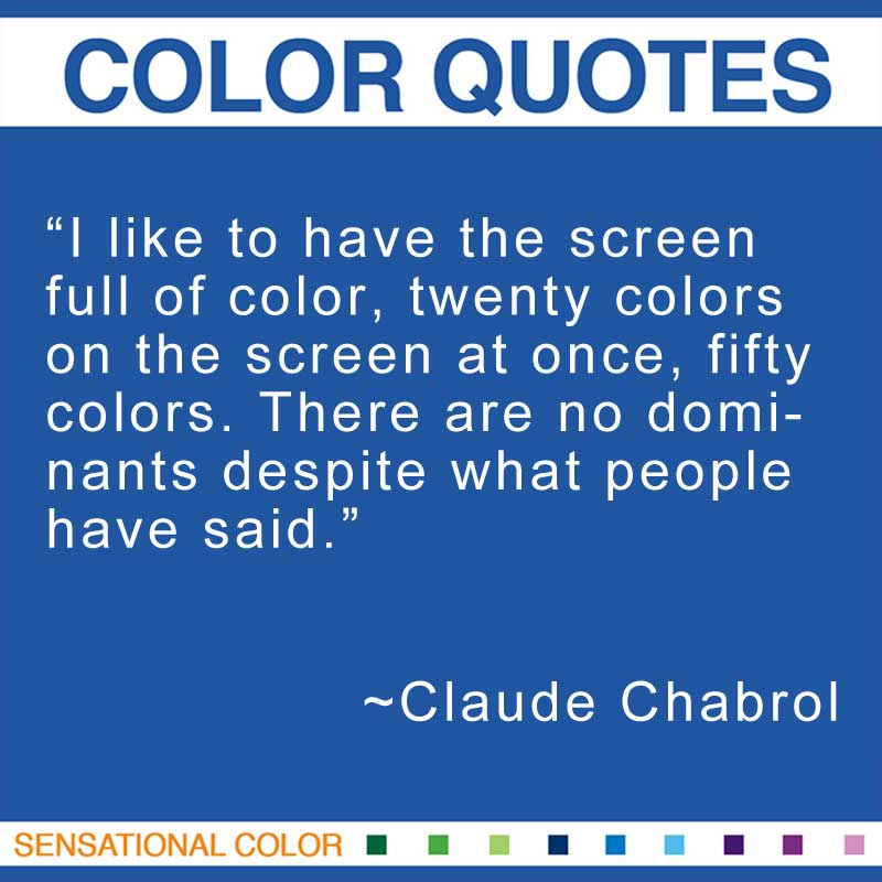 Claude Chabrol's quote #4