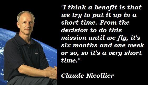 Claude Nicollier's quote #4