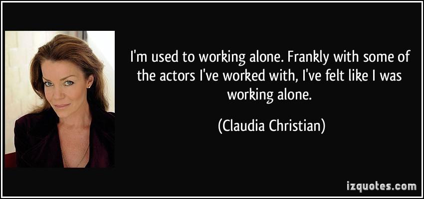 Claudia Christian's quote #1