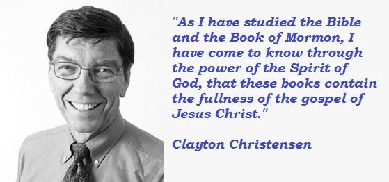 Clayton Christensen's quote #2