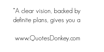 Clear Vision quote