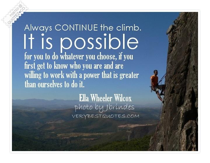 Climb quote #8