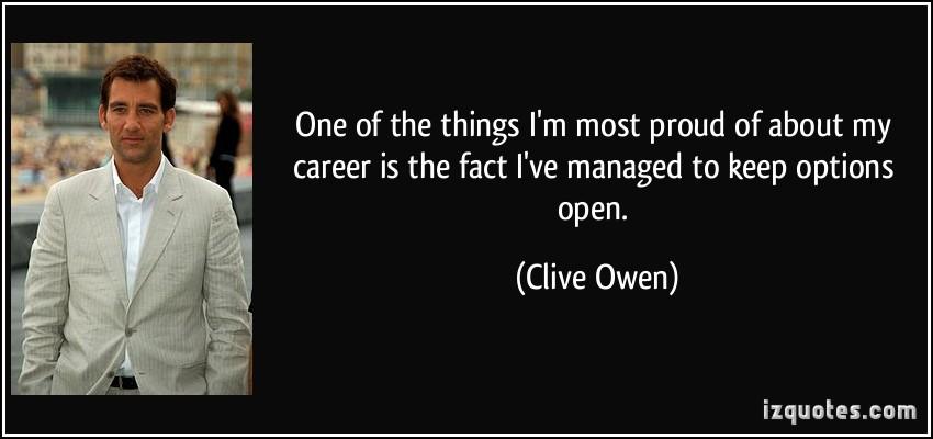 Clive Owen's quote #1