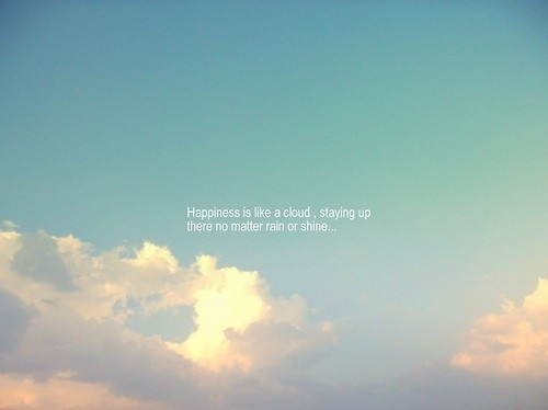 Clouds quote #1