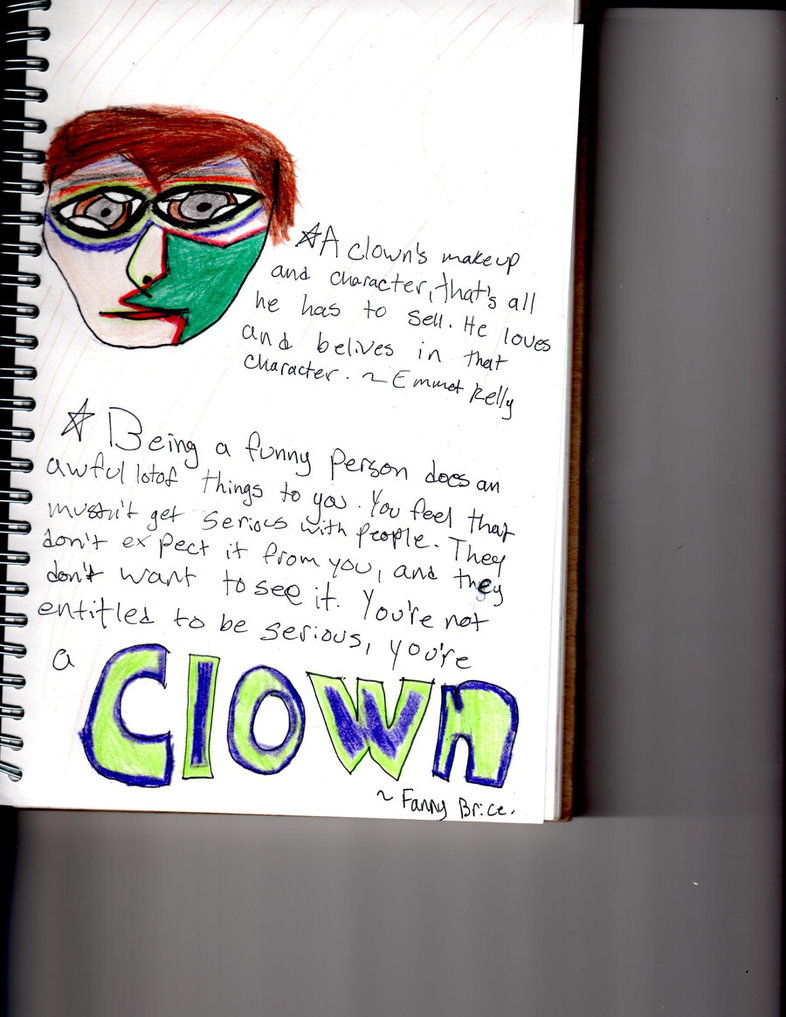 Clown quote #1
