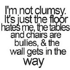 Clumsy quote #1