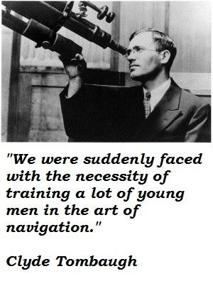 Clyde Tombaugh's quote #6